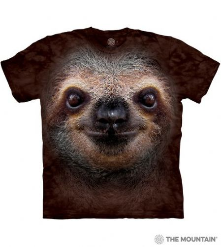 Sloth Face T-shirt | The Mountain®